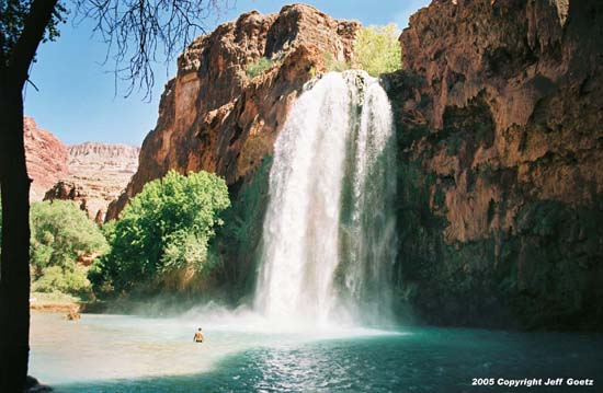 Photo of Havasupai Falls in Arizona